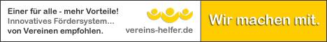 Dieser Link führt Sie zum Shoppingportal von vereins-helfer.de
